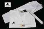 Taekwondo uniform Pine Tree Sang Moo Sa White V-Neck