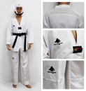 Taekwondo Dobok Fighter Ultralight WT White V-Neck